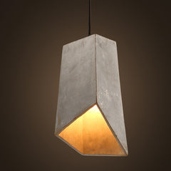 Handre de la Rey concrete pendant light replica
