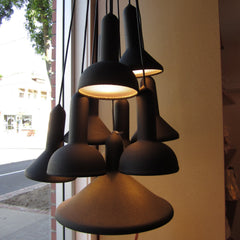 Torch Pendant Light cafe setting
