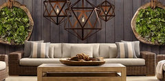 Contemporary Design Polyhedron Ceiling Pendant Light
