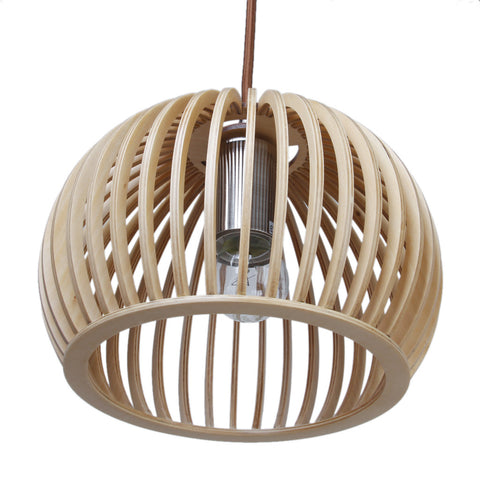 Atto Wooden Pendant Light