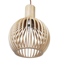 Wooden Seppo Koho Replica Octo Wooden Pendant Light