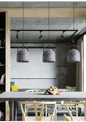 Visby Concrete Pendant Light