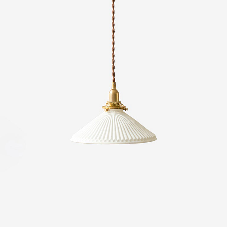 Eden Fluted Pendant Light