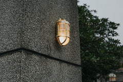 Nautilus Oval Outdoor and Bathroom Wall Light