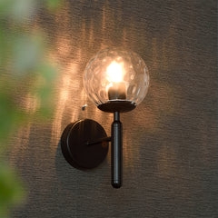 Nostra Minimalist Glass Wall Light