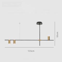 Ilili Minimalist 3 Head Pendant Light