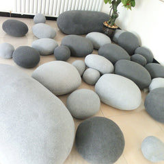 Pebble Stone Pillow Cushion Cover (Pack of 6)