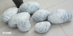 Patterned Pebble Stone Cushion Pillow Cover