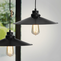Latte Colourful Loft Industrial Pendant Light