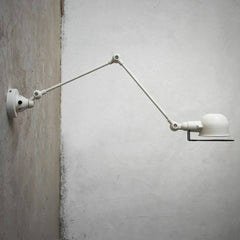 fotis mega long arm retro wall light. Industrial Wall sconce