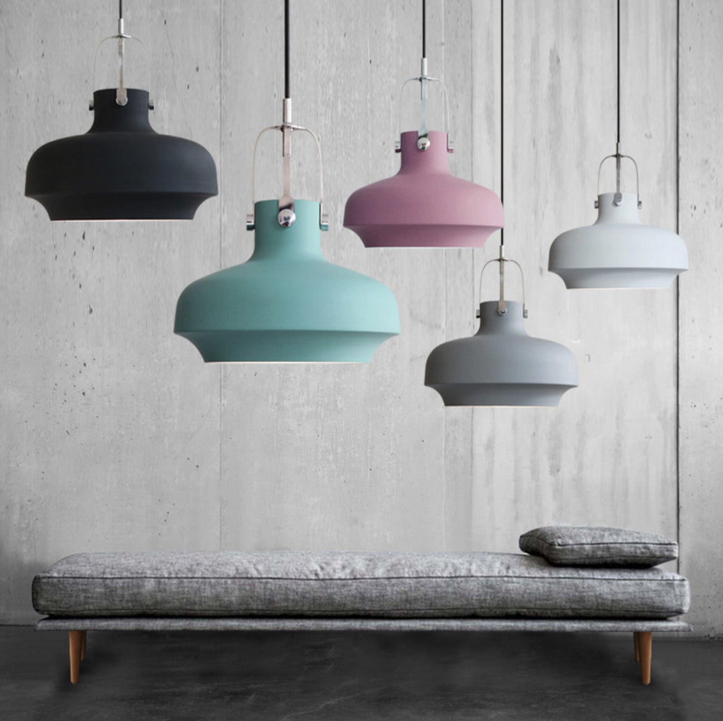 Rainier Contemporary Pendant Light. Modern Minimalist Scandinavian Style