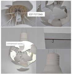 Big bang exploding bulb pendant light details