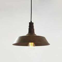 Vintage Edison Industrial Pendant Light Rustic brown