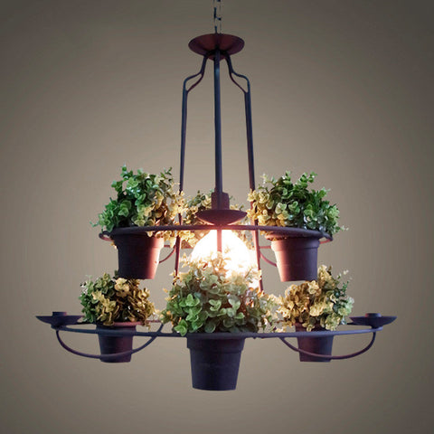 Pot Plant Pendant Light