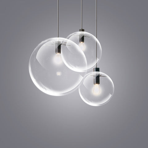minimalist lighting. Glass Bubble Lamp Shade Pendant Ceiling Light Minimalist Lighting E
