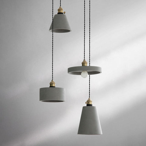 minimalist lighting. Concrete Vasa Minimalist Pendant Light Lighting S