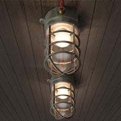 Classic Nautical Bunker Ceiling Light