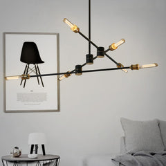 Circa pendant light - 3 lines (6 heads)