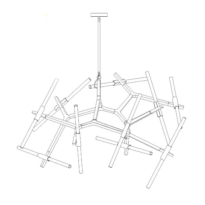 t n r tree contemporary ceiling pendant light tudo and co tudo Floor Wiring Diagram t n r tree contemporary designer ceiling pendant light studio image drawing