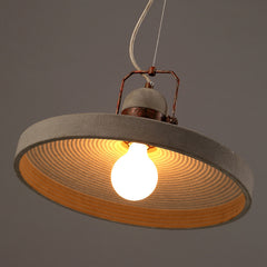 Vardo Concrete Cement Rustic Pendant Light