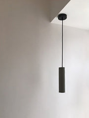 Concrete Pipe Pendant Light