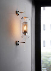 Chiswick Glass Wall Light