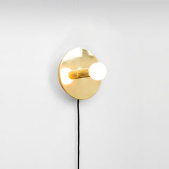Minimalist Gold Aria Wall Light
