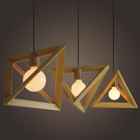 Scandinavian minimalist lighting tudo and co - Lamparas para techo de madera ...