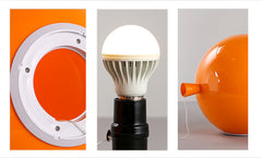 Round Balloon Wall Light With Pull Switch - details