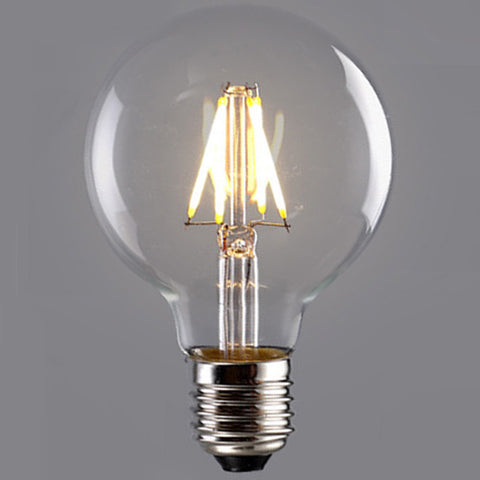 G80 Small Round 8cm LED Bulb 4W