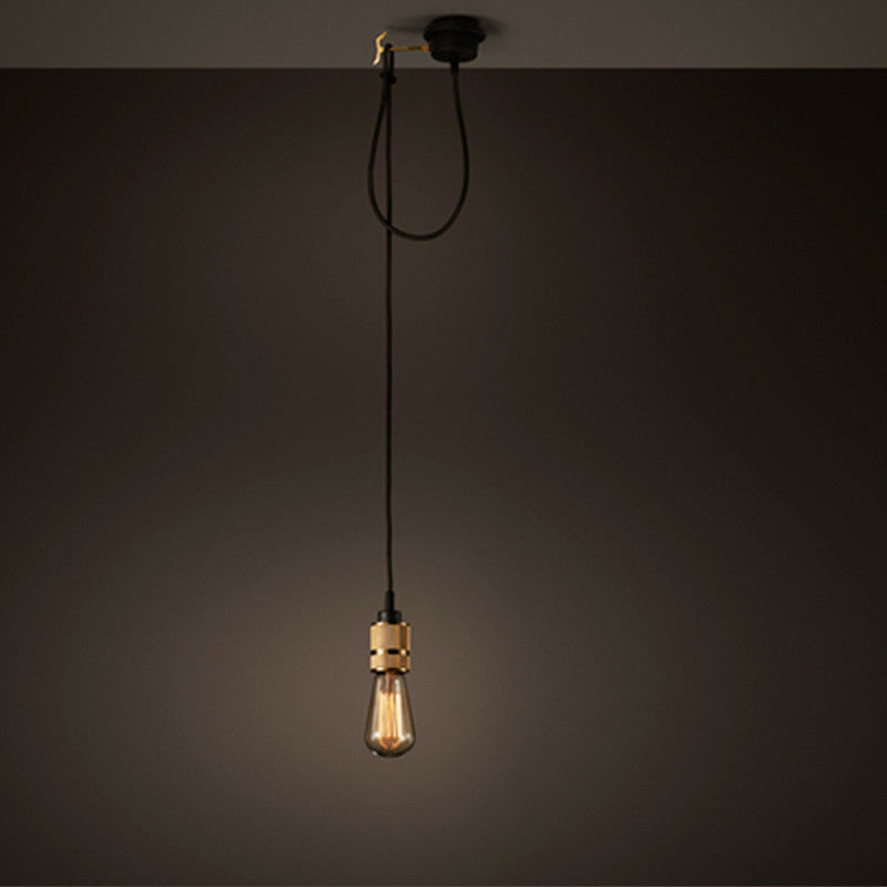 Hooked Single Pendant light
