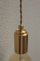 Mono Brass Gold Pendant Light