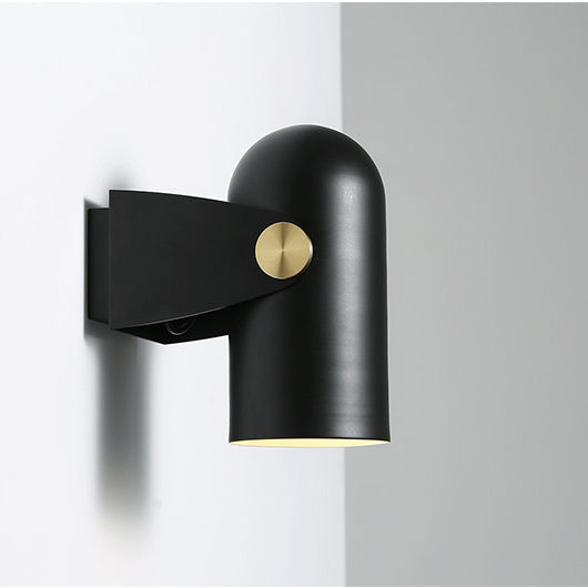Black spotlight minimalist wall light tudo and co tudo and co black spotlight minimalist wall light aloadofball Choice Image