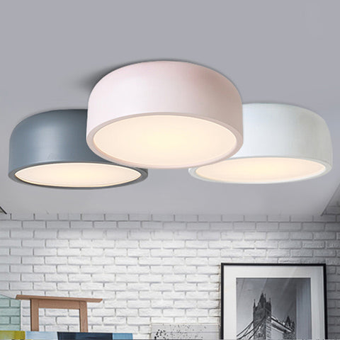Pastel round ceiling light