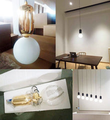 Aball pendant light real pictures