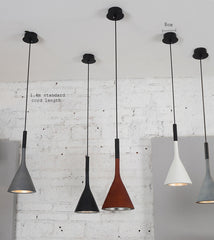 Aplomb Replica Concrete Cement Pendant Ceiling Light. Modern contemporary design.