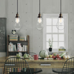 Big Bulbs Cluster Pendant Light Chandelier in room