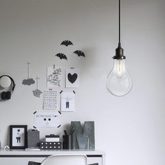 Big Bulb Pendant Light in room
