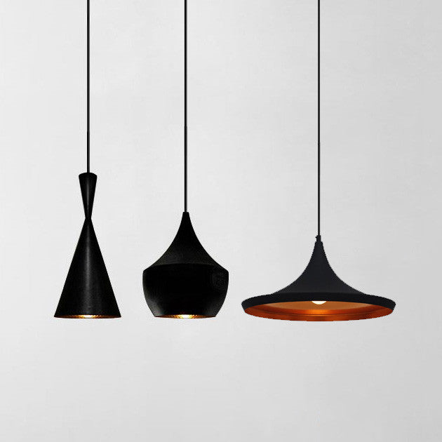 Modern beat black pendant light tudo and co tudo and co modern beat black pendant light beat light aloadofball Image collections