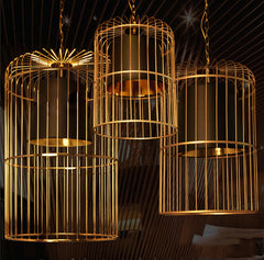 Bird Cage Pendant Light Chandelier