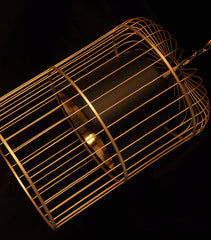 Bird Cage Hanging Pendant Light