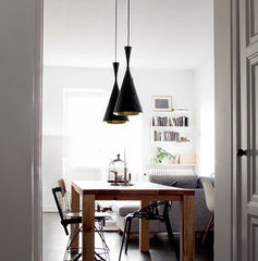 Modern Beat Black Pendant Light