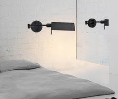 Brooklyn Black Bed room light