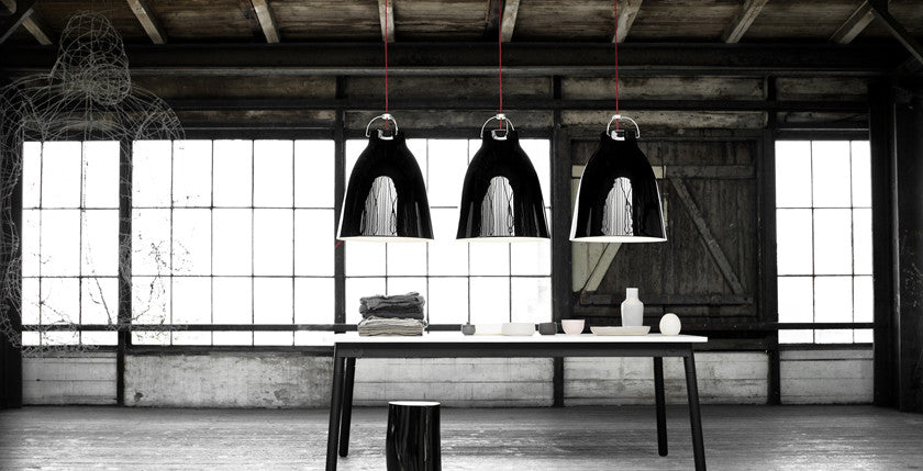 Caravaggio Black Spinning Ceiling Light Tudo And Co