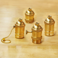 High Quality Bronze UL E27 screw in Bulb Fitting for Edison bulb