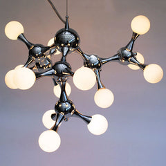 15 light Chrome Molecule Light