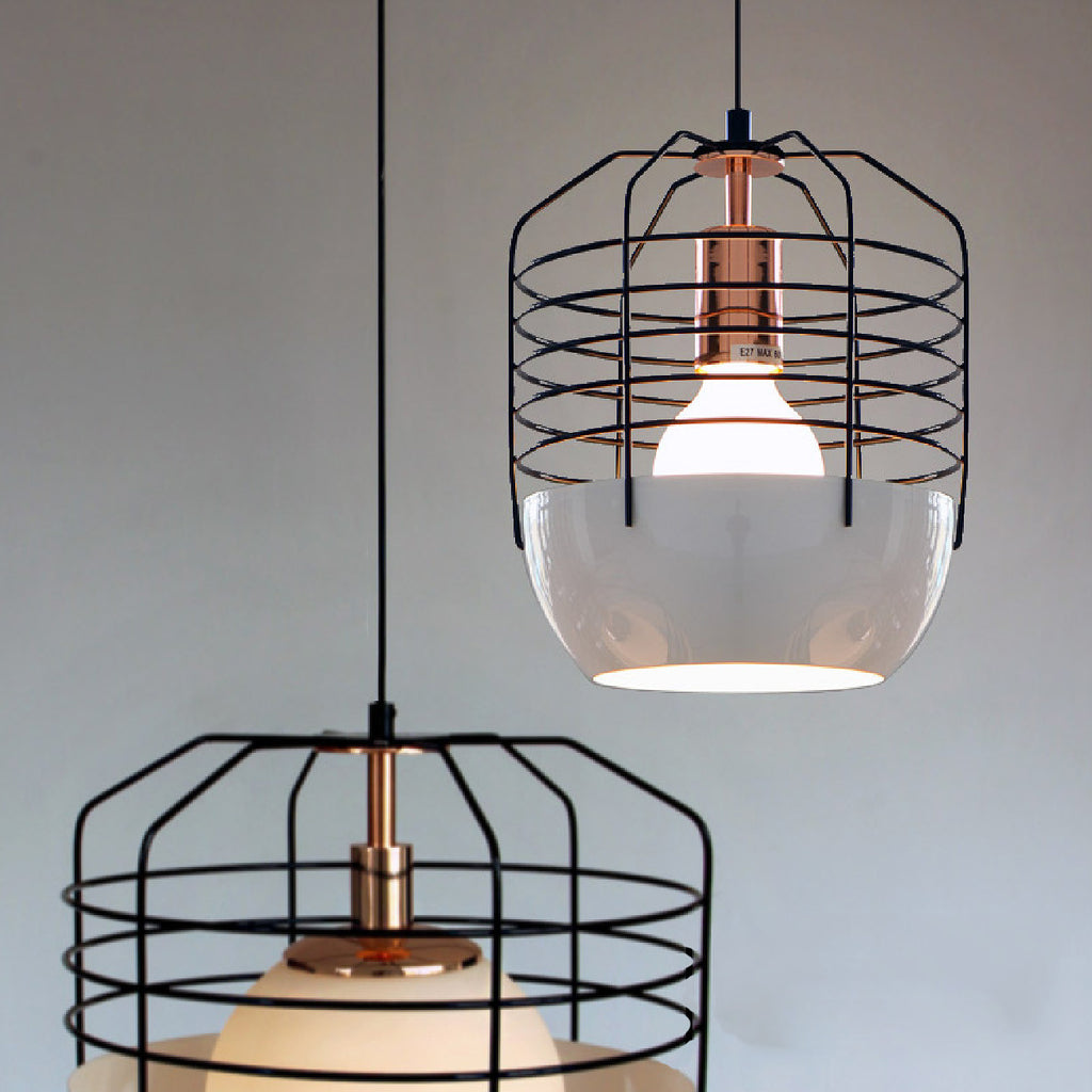 gatsby art deco style cage pendant light tudo and co. Black Bedroom Furniture Sets. Home Design Ideas