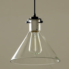 Cone Glass Lamp Shade Pendant Light
