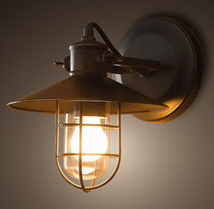 Harbour Sconce Vintage Industrial Wall Light