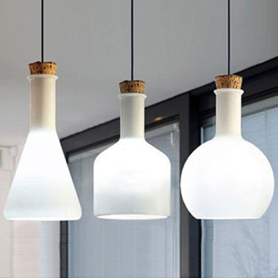 glass bottle lighting outdoor lab white glass bottle modern minimalist pendant light benjamin hubert replica tudo and co